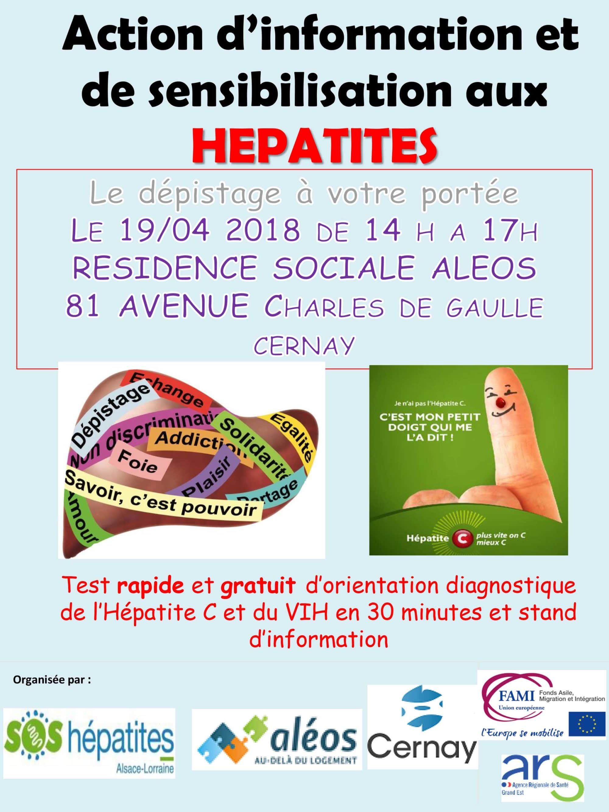 Action d'information et de sensibilisation aux hépatites - Ville ...