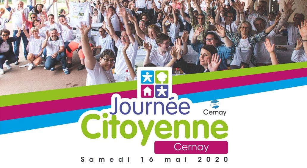 Journée citoyenne à Cernay en 2020