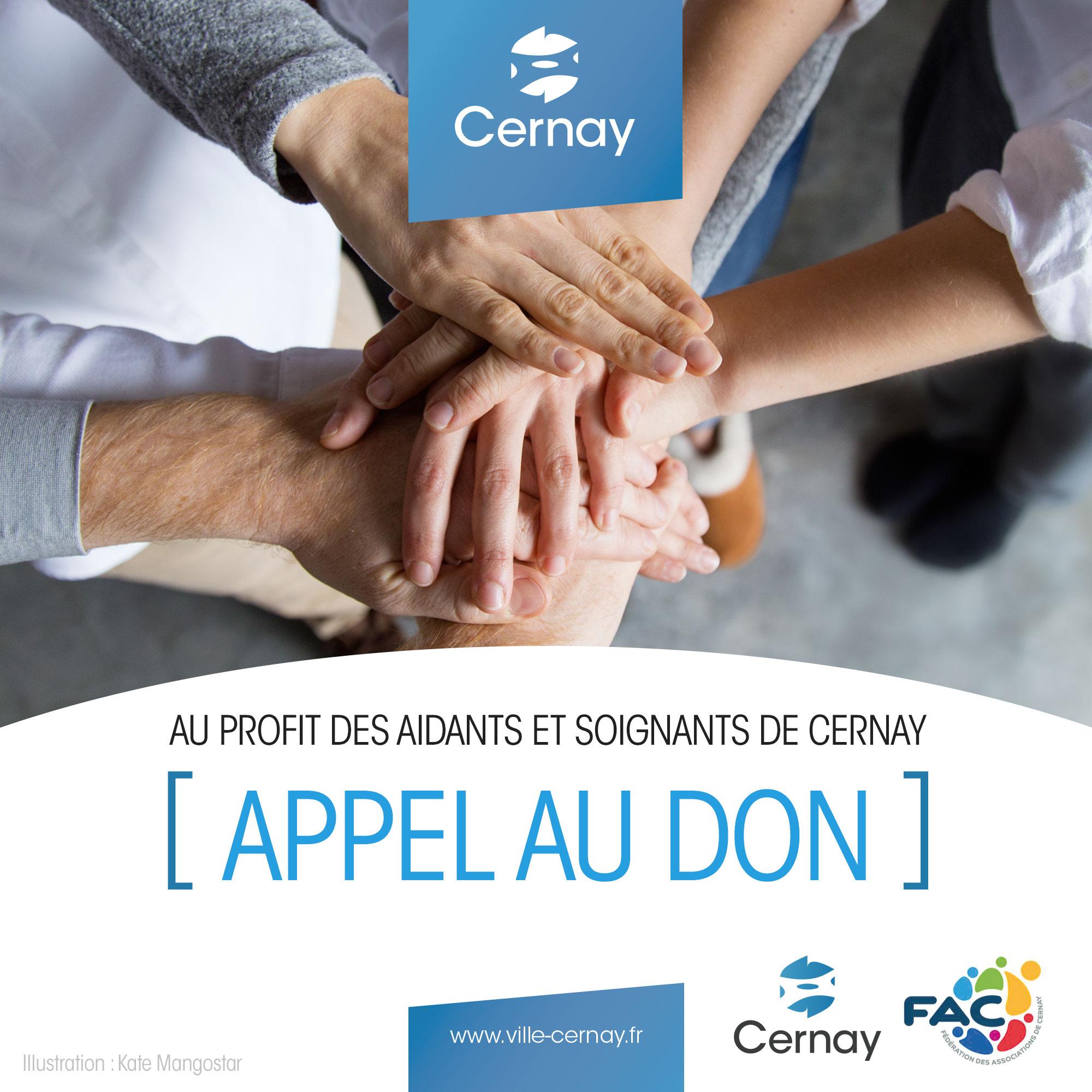 Appel au don - Solidarité COVID